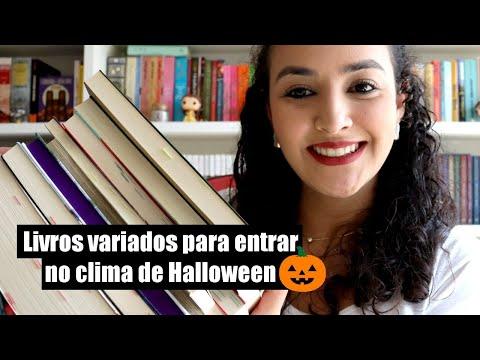 Livros para entrar no clima de Halloween 🎃
