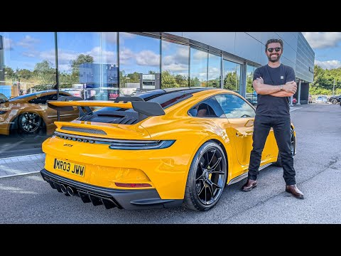 NEW CAR DAY! My Porsche 992 GT3 In Signal Yellow Has Arrived!