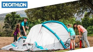 Quechua air seconds family xl functionalities Как