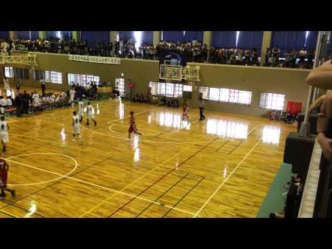 2014 中頭地区中体連バスケットボール大会 真志喜中学校対コザ中学校