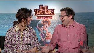 Selena Gomez & Andy Samberg Interview - Hotel Transylvania 3: Summer Vacation