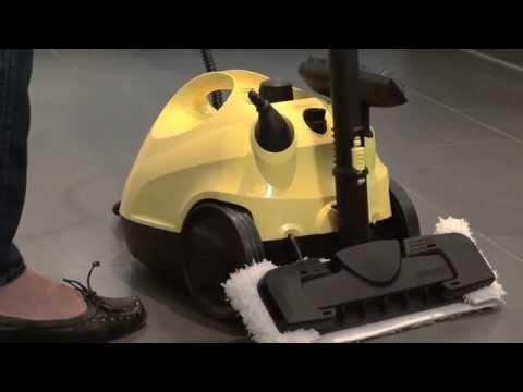 Aplicaciones del Limpiador de Vapor - Pisos / Home & Garden