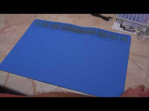 FINDFIX 49x35cm Magnets Heat Insulation Silicone Pad BGA