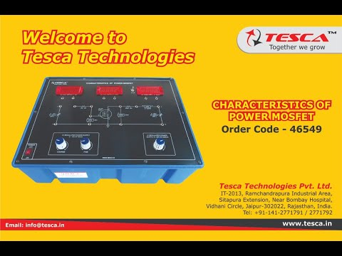 Characteristics of Power MOSFET Trainer
