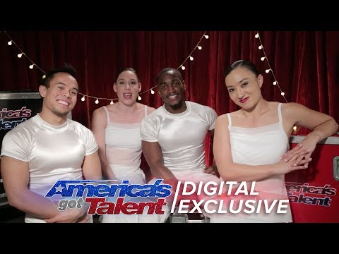 Boat Rocking Diavolo Relive Their AGT Experience - America's Got Talent 2017