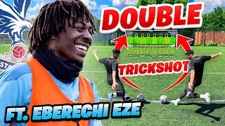 INCREDIBLE FREE KICK TRICK SHOT FT. EBERECHI EZE 🤯🎯
