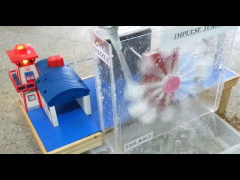 Working Model of Hydro Electric Power Plant by Dawood UET Students