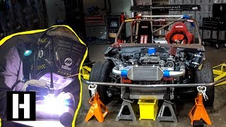 ShartKart Gets Welded up: Bash Bar, Charge Pipe, and Other Party Supplies