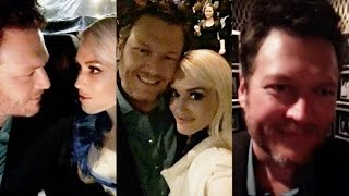 Gwen Stefani with Blake Shelton at People's Choice Awards | Snapchat Videos | January 18 2017