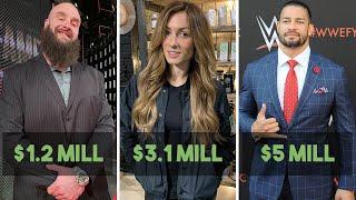 10 Richest WWE Superstars Of 2020