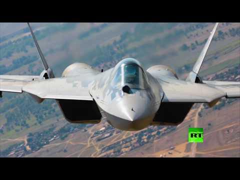 العرب اليوم - شاهد: طائرات سو-57 باك فا تجتاز أصعب أنواع الاختبارات لقياس متانة هياكلها