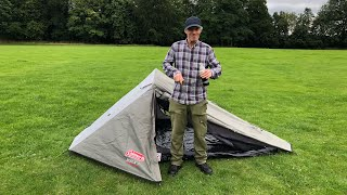 The Coleman bedrock 2.two person tent review