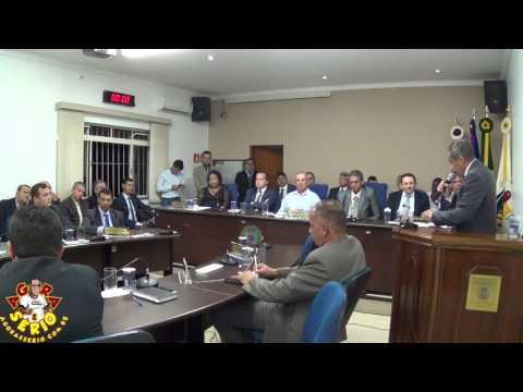 Sessão Solene dia 27 de Março de 2017 Juquitiba 52 anos - Marciano