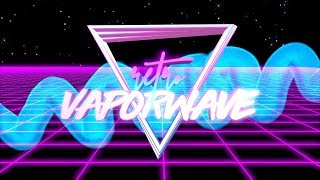 RETRO VAPORWAVE INTRO TEMPLATE (NO TEXT)