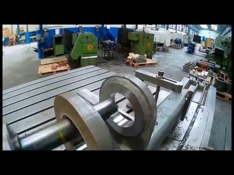 Tutorial de mecanizacion en una mandrinadora.