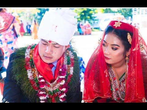 Amrit Weds Rojina    Nepali Wedding Ceremony    Full Video '2020'