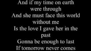 Garth Brooks  'If Tomorrow Never Comes' Karaoke