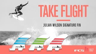 The new FCS II JW signature fin is designed with speed control and projection in mind