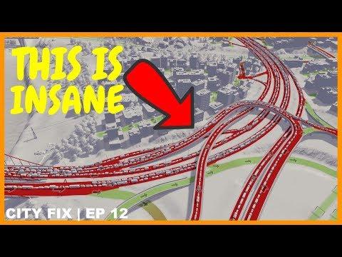 Fixing the Longest Traffic Jam Ever | CITY FIX | Cities Skylines