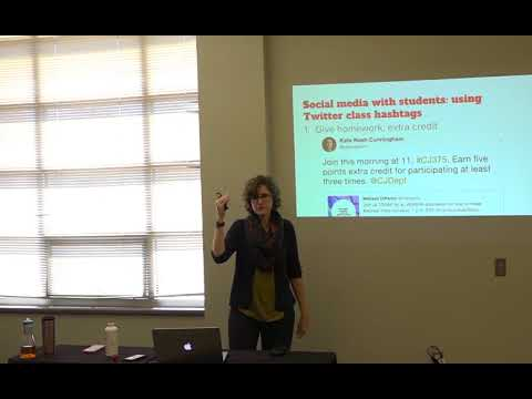 Advance at UNM social media tutorials: Using Social Media with Students