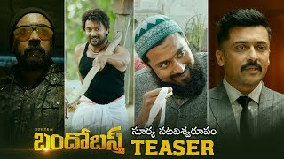 Bandobast Teaser | Suriya | Mohan Lal | Arya | K V Anand |