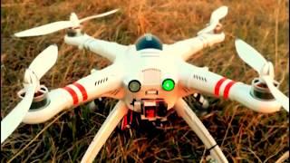 Квадрокоптер Walkera QR X350 Pro подъём на высоту 155 метров/Quadrocopters Walkera QR X350 Pro