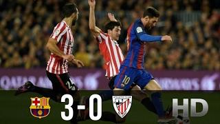 Barcelona vs Athletic Bilbao 3-0 All Goals and Highlights La Liga 04.02.2017 HD