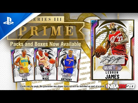 NBA 2K20 - MyTEAM: LeBron James PRIME Series III |PS4
