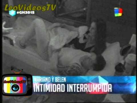 Mariano y Belen, intimidad interrumpida GH 2015 #GH2015 #GranHermano