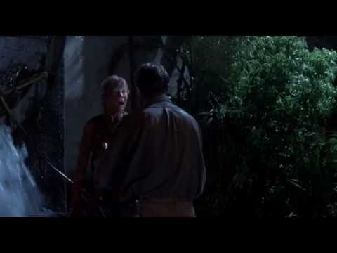 Jurassic Park - He left us, he left us! But thats not... what I'm gonna do.