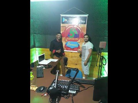 RADIO AGITOS RECEBE EDCARLOS
