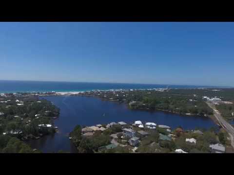 30A Eastern Lake and Seagrove Beach Drone Views