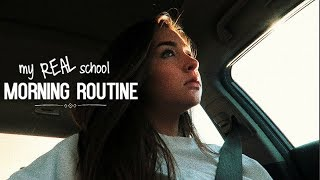 My REAL School Morning Routine | Vlog Style