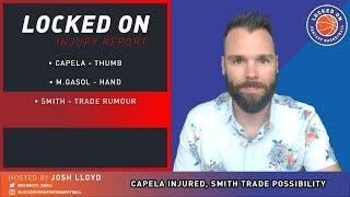 NBA FANTASY | Capela Injured, DSJ Trade?, Harden Goes Off, Tuesday DFS