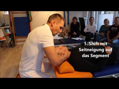 Klassische Massage Osteochondrose Video