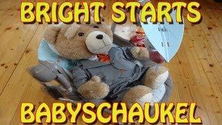"""""""BRIGHT STARTS BABYSCHAUKEL / BABYBETT"""" -Vorstellung"""