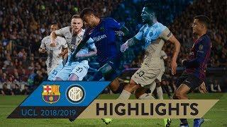 BARCELONA 2-0 INTER   HIGHLIGHTS   Matchday 03 - UEFA Champions League 2018/19