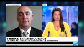 Thalys train attack 'Data is not properly shared' says President of ECIPS, Mr. Ricardo Baretzky