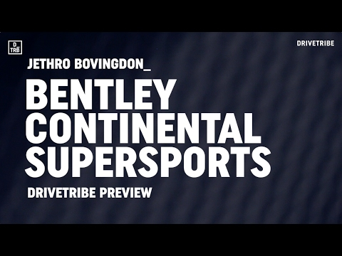 PREVIEW: the 700bhp Bentley Continental Supersports