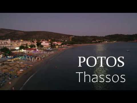 Potos Thassos, Grecia 4K
