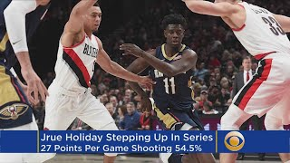 Jrue Holiday Is Why The Pelicans Lead The Trail Blazers