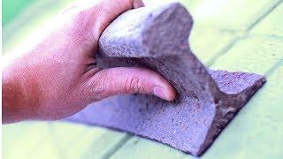 Что можно сделать из куска рельса для домашнего хозяйства? Найден нужный кусок рельсы. #мастерDIY