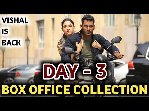 Action Box Office Collection,Vishal Action Movie 3rd Day Collection,Action Third Day Collection