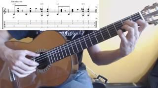 "Cómo tocar ""Mediterráneo"" de Joan Manuel Serrat con la GUITARRA"