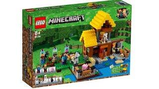ЛЕГО Майнкрафт 2018 подробности. LEGO Minecraft наборы из игры