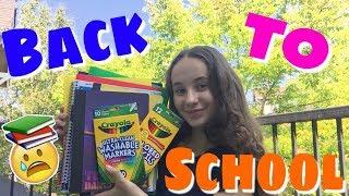 Покупки к школе в США. Канцелярия для начальной школы в Америке. Back to School supplies haul.