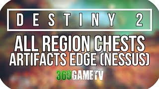Destiny 2 All Artifacts Edge Region Chest Locations (Nessus Planet Region Chests Locations Guide)