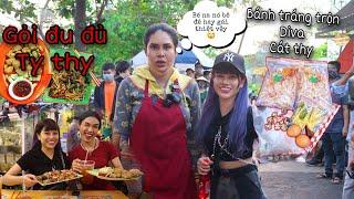 NanaLiu Đến Tận Nơi Review 2 Món Ăn Vặt ,Bánh Tráng , Gỏi Đu Đủ Hót Trên MXH Có Ngon Như Lời Đồn ?