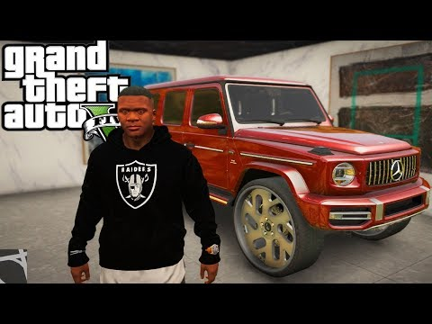 2019 Gwagon On 30in Forgies! GTA 5 Real Hood Life 2 #197