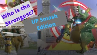 Super Smash Bros. Ultimate (SSBU) - Who is the Strongest - Up Smash Edition